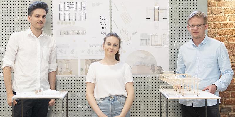 Un estudiante de la UCLM gana un concurso de arquitectura en Alemania