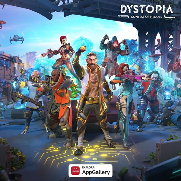 """AppGallery lanza el videojuego """"Dystopia Torneo de Héroes"""" de manera exclusiva para usuarios Huawei a nivel global"""