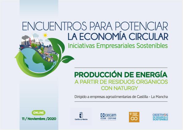 CECAM difunde entre las empresas de la región las oportunidades de la economía circular