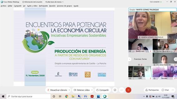 CECAM traslada a las empresas de la región las oportunidades de la economía circular