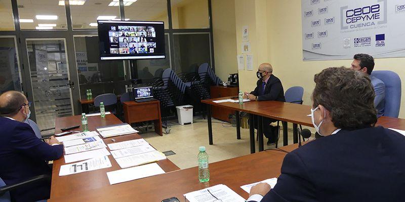 CEOE-Cepyme Cuenca traslada información a sus asociados sobre la segunda promoción de UFIL