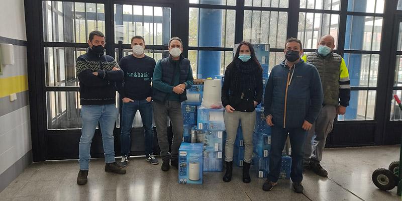 El Ayuntamiento de Quintanar del Rey compra 94 purificadores de aire para los centros educativos