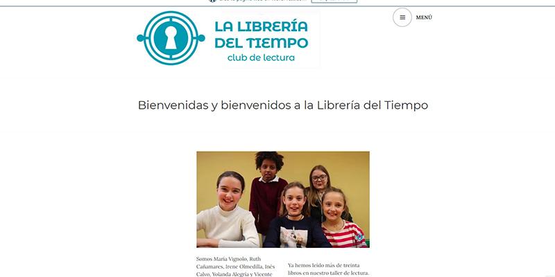 """El club de lectura juvenil """"La Librería del Tiempo"""" de Cuenca estrena podcast"""