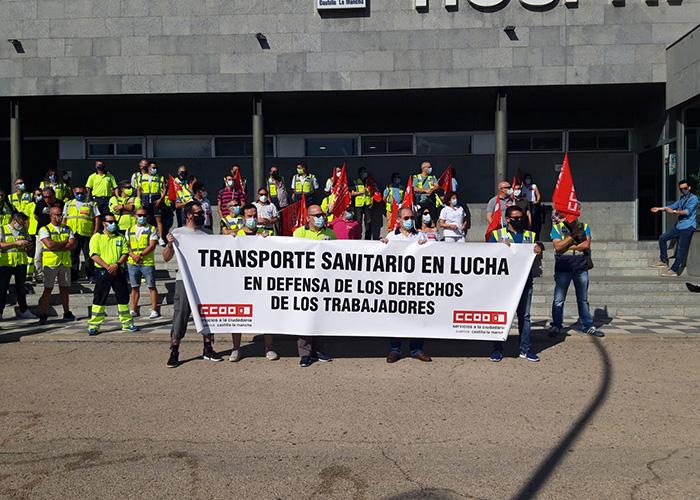 El conflicto laboral en el sector de ambulancias se mantiene en la provincia de Cuenca