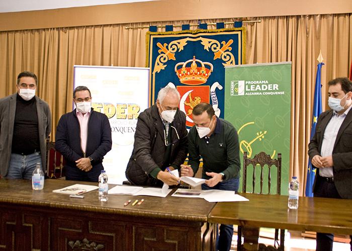 El director general de Desarrollo Rural de Castilla-La Mancha ensalza el trabajo de CEDER Alcarria Conquense apoyando proyectos LEADER