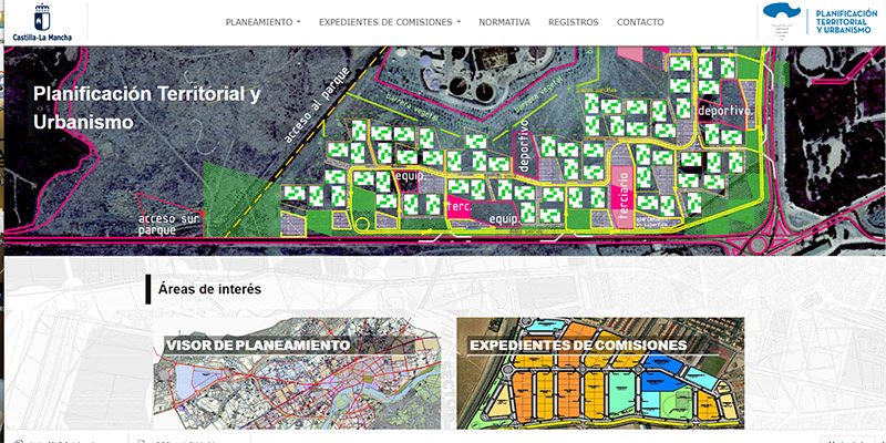 El Gobierno de Castilla-La Mancha digitaliza y hace accesible la información urbanística de toda la región a través de un nuevo portal web
