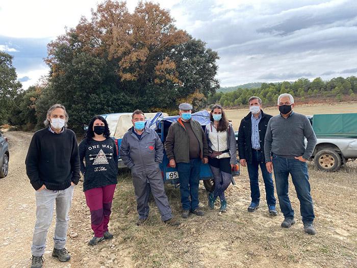 """El Gobierno regional realiza acciones de conservación y restauración en la Cañada Real conquense para """"hacer más cómodo el trayecto a los ganaderos trashumantes"""""""