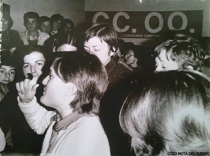 Huelga en almacenes de ajos en 1977