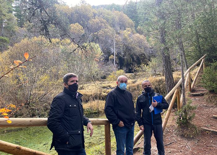 La Junta acometerá obras de mejora y adaptación en el Monumento Natural del Nacimiento del Río Cuervo