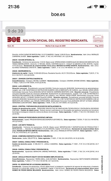 Los administradores del concurso de Luis Loriente SL tendrán que pagar 292.846 euros más intereses a los 23 trabajadores de la extinta empresa cárnica afiliados a CCOO