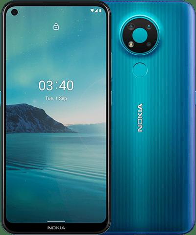 Los nuevos Nokia 3.4 y Nokia 2.4 llegan a España con elementos esenciales y modernos como imágenes de IA y una pantalla grande y luminosa