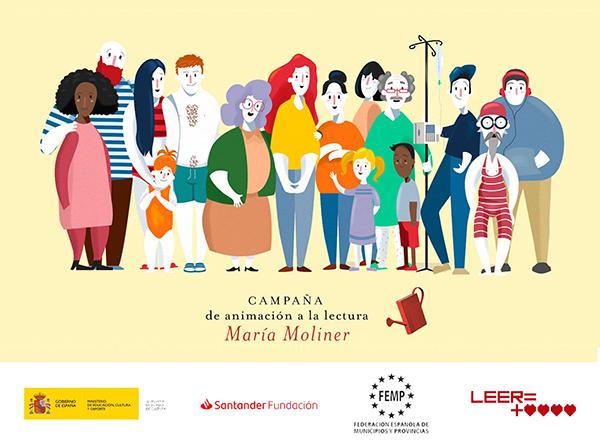 """Los proyectos """"El caso es no parar"""" de Galápagos y 'Lee, actúa y conciénciate ¡jugando!', de Villar de Olalla, entre los 10 mejores Proyectos de Animación a la Lectura 'María Moliner'"""