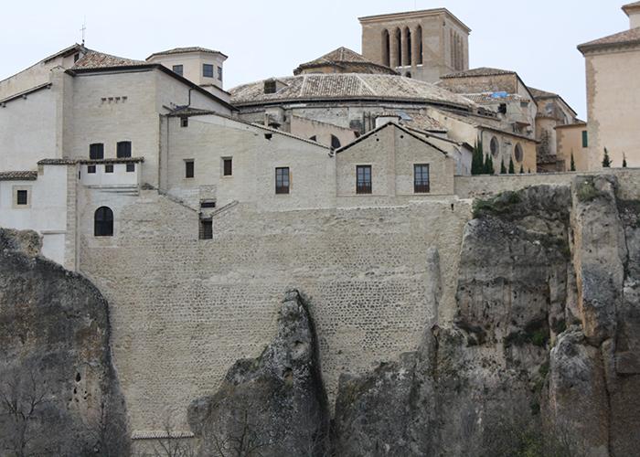 Murallas traseras Catedral de Cuenca