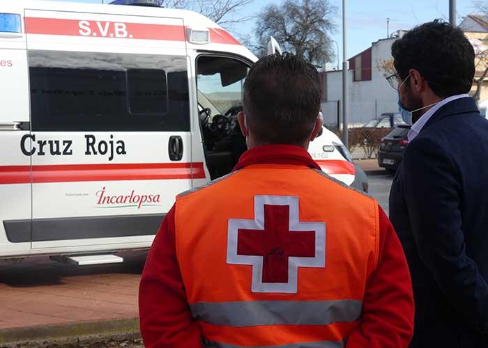 Cruz Roja Cuenca pone en funcionamiento una nueva ambulancia SVB en la provincia gracias a Incarlopsa