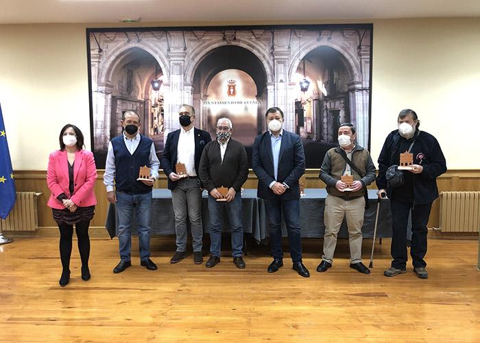 El Ayuntamiento de Cuenca despide a los 18 funcionarios municipales que se jubilan este año