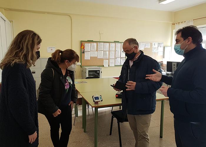 El Ayuntamiento de Huete compra medidores de CO2 y de flujo de aire para el CRA Campos de la Alcarria