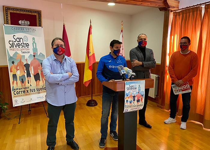 El Ayuntamiento de Tarancón respalda la carrera virtual ´San Silvestre Paseo de Zapatería´ a beneficio de la AECC de Tarancón