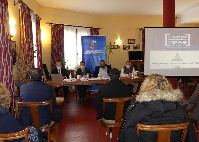 La Agrupación de Hostelería y Turismo de Cuenca exige ayudas a las administraciones para compensar las medidas anti covid