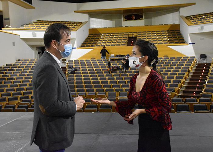 La Diputación de Cuenca está llevando a cabo las últimas grabaciones dentro del programa piloto Talía Online