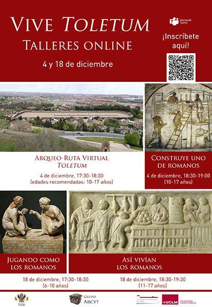La Facultad de Humanidades de Toledo divulgará el patrimonio romano con talleres online para niños y jóvenes