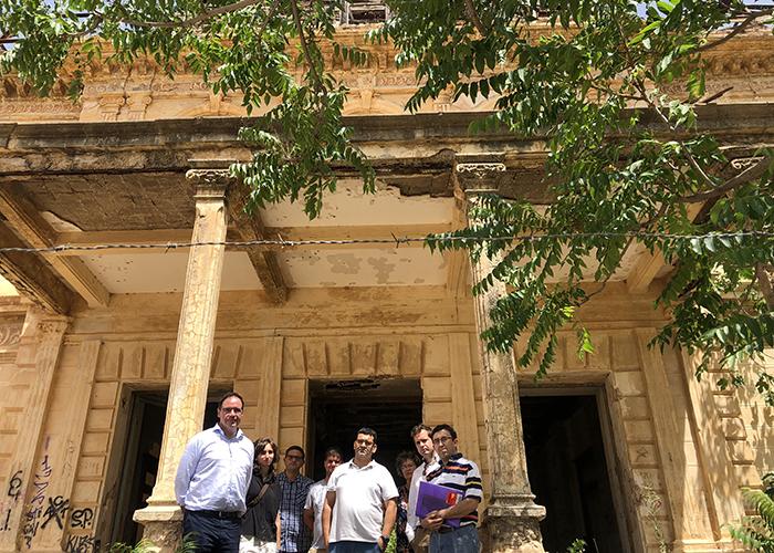 La Junta comunica a la Fiscalía del Estado la necesidad urgente de que la Diputación rehabilite el Palacio de los Gosálvez
