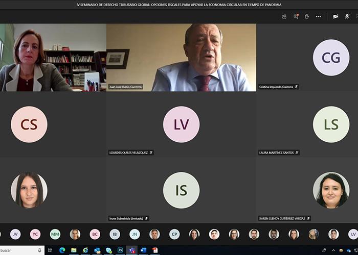 La UCLM analiza en una jornada en línea las opciones fiscales de apoyo a la economía circular en tiempos de pandemia