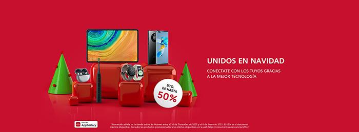 Las ofertas de Navidad de Huawei ya están aquí para facilitar la compra de regalos tecnológicos a sus clientes