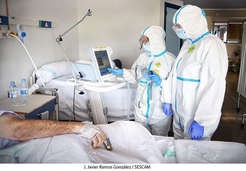 Lunes 14 de diciembre Guadalajara registra cinco fallecidos a causa del Covid durante el fin de semana y Cuenca suma tres muertos más