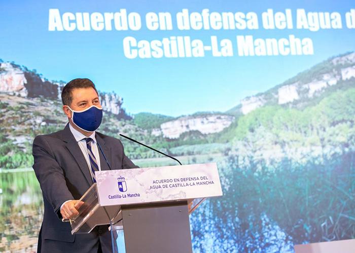 """Page valora un acuerdo regional """"alejado de partidismos"""" para que exista una """"defensa pétrea"""" de los intereses de Castilla-La Mancha"""