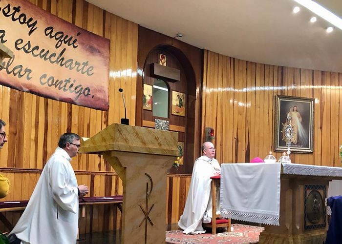 V Aniversario de la capilla de Adoración Eucarística Perpetua de la ciudad de Cuenca