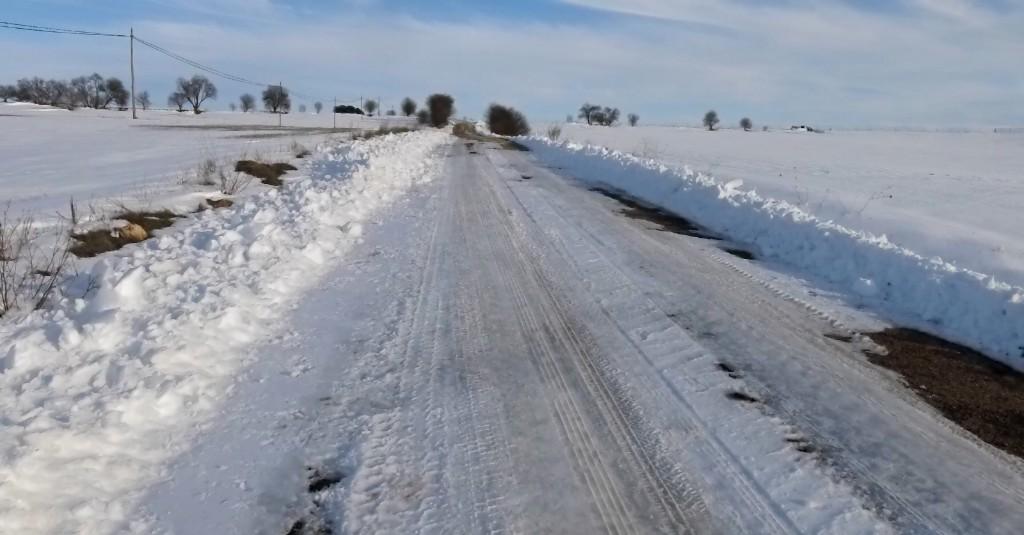 El PP pide a la Junta que agilice el arreglo de la carretera Villaescusa-Rada, cada vez más deteriorada e intransitable
