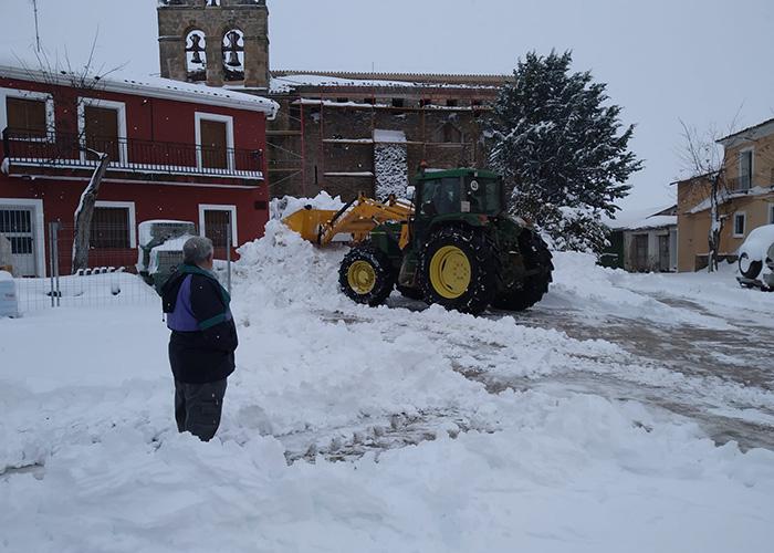 Ciudadanos critica la falta de actuación de la Diputación de Cuenca ante las nevadas en los municipios conquenses