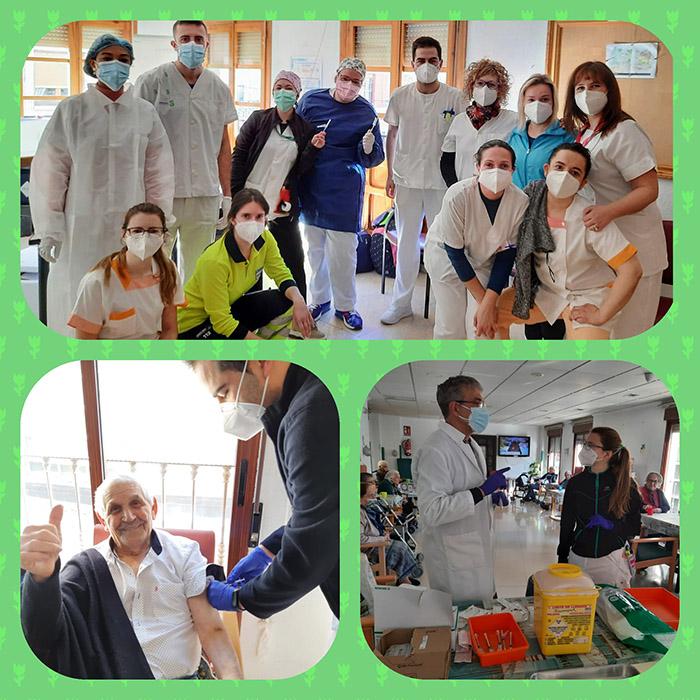 Comienza la vacunación contra el Covid-19 en Quintanar del Rey