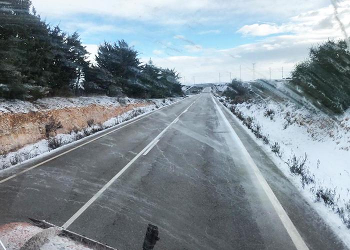 Cuenca ha registrado durante la noche del jueves 26 incidencias a causa de la nieve y Guadalajara sólo seis