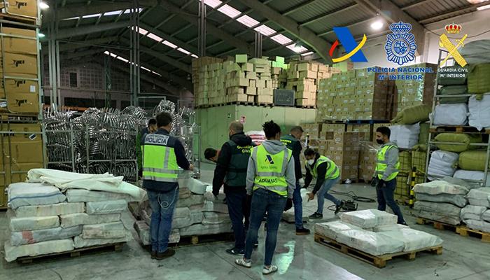 Desarticulada una organización criminal dedicada al tráfico internacional de cocaína a gran escala con ramificaciones en Cuenca