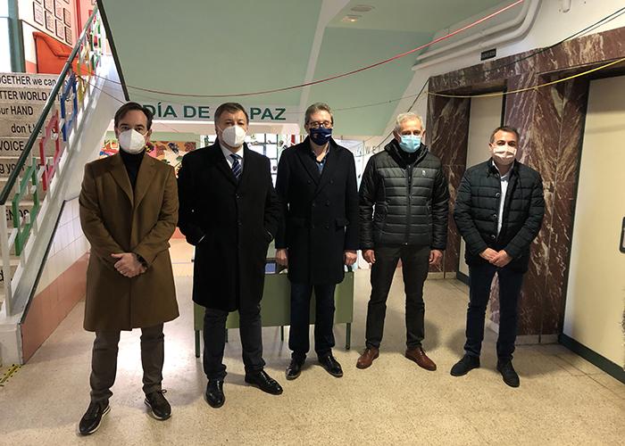 El Ayuntamiento de Cuenca avanza en las obras de mantenimiento en colegios con el Recual, ultimando Santa Ana y habiendo finalizado ya Fuente del Oro