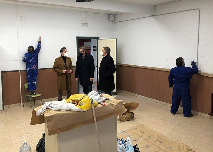 El Ayuntamiento de Cuenca destinará de nuevo el taller de empleo concedido por el Gobierno regional a obras de mantenimiento en colegios