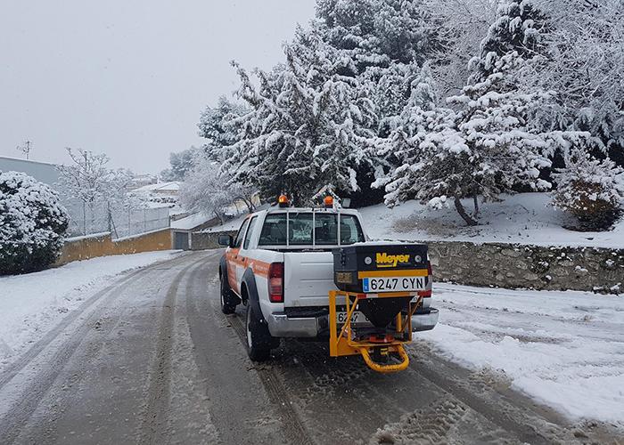 El Ayuntamiento de Huete habilita un teléfono de ayuda a emergencias provocadas por la nieve