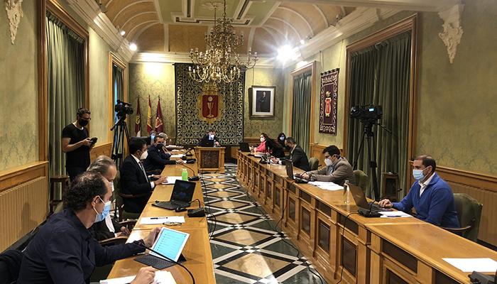 El Pleno del Ayuntamiento de Cuenca aprueba por unanimidad una moción pidiendo a Gamesa su continuidad en la capital conquense