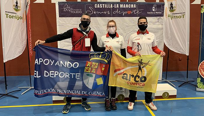 Gran actuación de los arqueros del Club Arco Cuenca en el Campeonato de Castilla-La Mancha