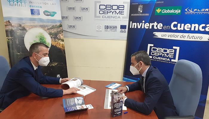 Invierte en Cuenca colaborará con UFIL para instalar a los emprendedores de este proyecto