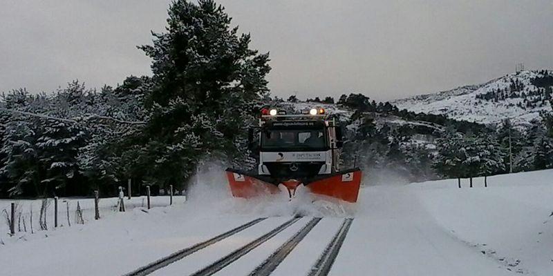 La Diputación de Cuenca moviliza un amplio dispositivo ante la previsión de fuertes nevadas