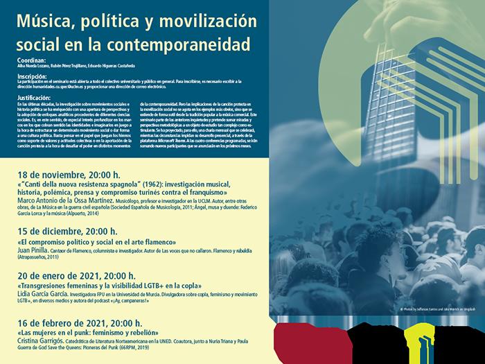 La investigadora y divulgadora Lidia García impartirá en Cuenca una conferencia sobre las transgresiones femeninas y el colectivo LGTB+ en la copla