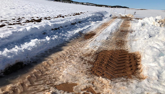 Prieto exige a la Diputación de Cuenca y a la Junta un Plan de Reparación de Caminos ante su deterioro por la falta de mantenimiento y la nieve