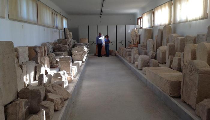 """Prieto pide la apertura del Museo de los Epígrafes de Segóbriga, """"hay que mejorar nuestra actual oferta para los turistas"""""""