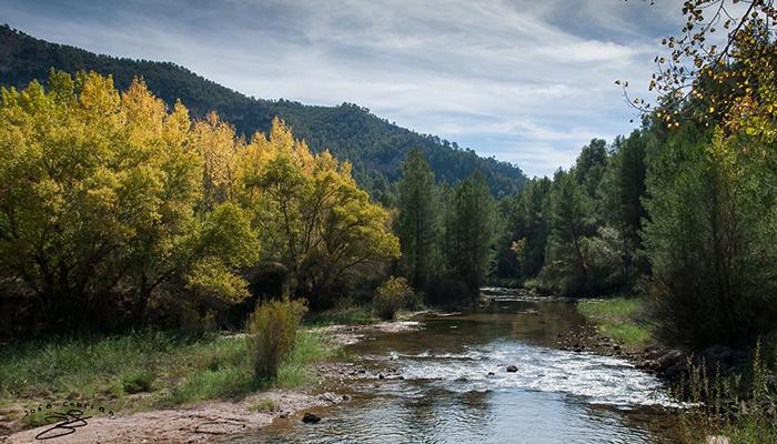 Río Cabriel a su paso por Cardenete