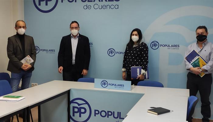 AUGC Cuenca expone sus reivindicaciones al PP conquense