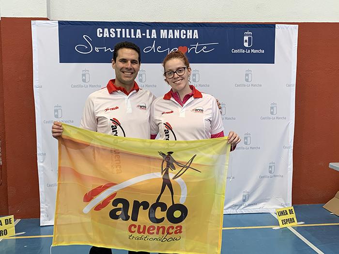 Beatriz Lorente y Carlos García, del Club Arco Cuenca, convocados por la Federación de Castilla-La Mancha para el Cto. de España de Arco Tradicional.