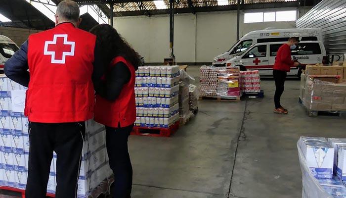 Cruz Roja distribuye 120.945 kilos de alimentos a 3.700 personas vulnerables de la provincia de Cuenca