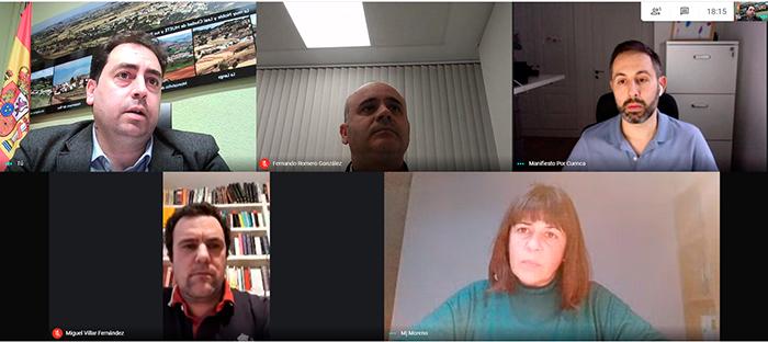"""Doménech agradece el apoyo de Manifiesto a Huete y les pide que """"arranquen compromisos en firme de las instituciones para la provincia de Cuenca"""""""